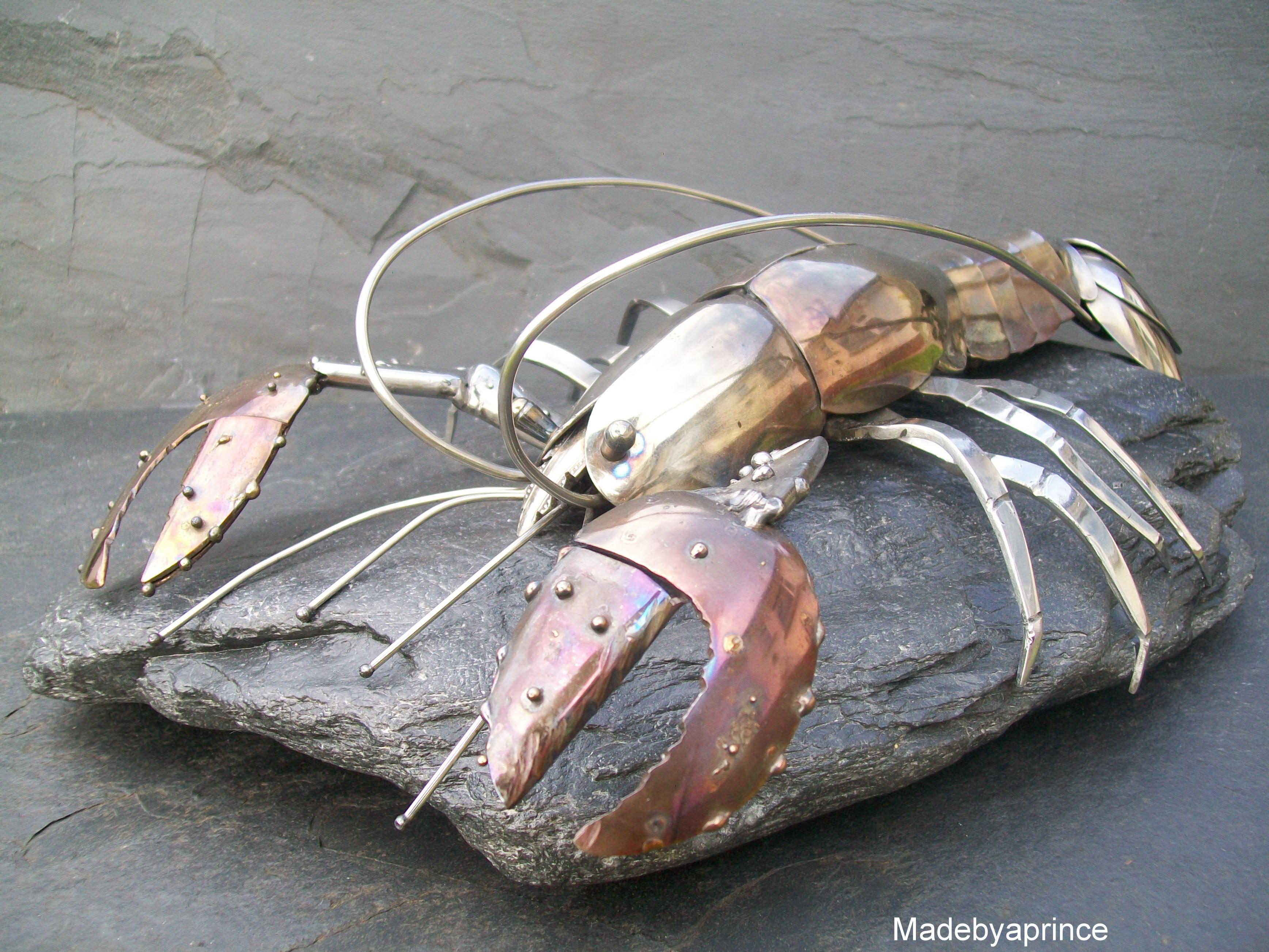 Lobster on Rock